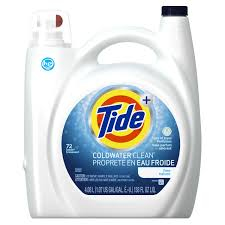 High Efficiency Detergent Brands Tide High Efficiency Coldwater Free Liquid Laundry Detergent