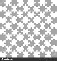 ホワイト グレー パズル背景 100 個ベクトル イラスト ストック