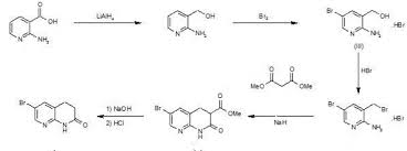 afn 1252 Â new drug approvals reduction of 2 aminonicotinic acid lialh4 in thf gives 2 amino 3 pyridinyl methanol