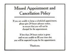Cancellation Policy Template 8 Free Documents Download - Oukas.info