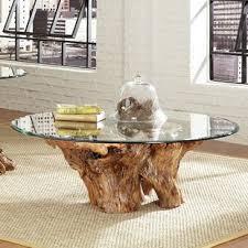 winooski root ball coffee table tree stump coffee table t89