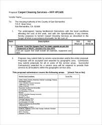 Cleaning Proposal Template 14 Cleaning Proposal Templates Word Pdf Free Premium Templates
