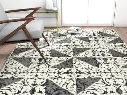 low pile area rug high canada grey modern trellis low pile area rug