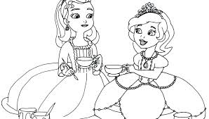 Tea Party Coloring Pages Free Best Ideas Style Page For Download And