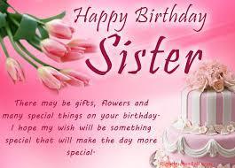 426 happy birthday sister wishes