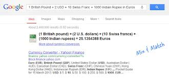 Convert Multiple Currencies At Once With Google