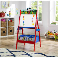 <b>Disney Mickey Mouse</b> Activity Easel with Storage by Delta Children ...