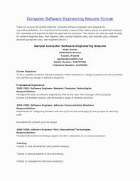 Resume Summary Examples For Engineering Freshers Best Of New How To