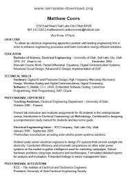 Ieee Resume Format Ieee Resume Format Resume Format Kenneth Smith