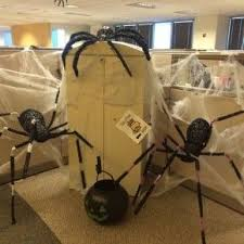 halloween office decorating ideas. Scary Halloween Spiders At Office From Getitcut.com Decorating Ideas