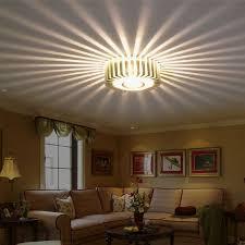 AC85V 265V Fashion Brief Modern Aluminum 3W Sun Flower Led Wall Lamp Led  Indoor Lamps
