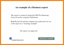 business reports examples business report example for students reports examples writing