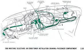 1968 mustang vacuum diagrams evolving software 1970 Corvette Vacuum Diagram air conditioner passenger compartment 1970 corvette vacuum diagram