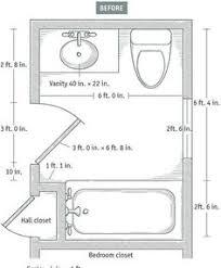 More on Baths Slideshow: 7 Small Bathroom Floorplan Layouts Kitchen & Bathroom  Planning & Design
