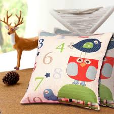 office nap pillow. Ivy Pillow Thick Linen Office Nap Car Waist Sofa Cushion Pillowcase + Core (childhood Time) I