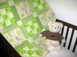 1, 2, 3 Green Light Go Handmade Baby Quilts &  Adamdwight.com