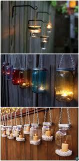 5 out of 5 stars. Diy Hanging Mason Jar Lights Garden Fence Decor Instructions 20 Fence Makeover Ideas Diy Outdoor Lighting Hanging Mason Jar Lights Diy Backyard