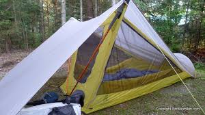 The screened walls in the Sierra Designs Tensegrity 1 FL tent provide  excellent ventilation and airflow