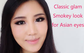 clic asian glam smokey eye makeup tutorial suitable for hooded eyes you