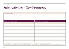 Client Activity Report Template – Printable Editable Blank ...
