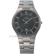 """men s skagen titanium watch 801xltxm watch shop comâ""""¢ mens skagen titanium watch 801xltxm"""