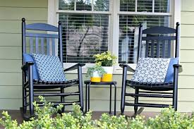 furniture glamorous front porch decoration with black wood rocking marvellous rocking chairs in front porch design