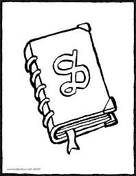 Kleurplaat Boek
