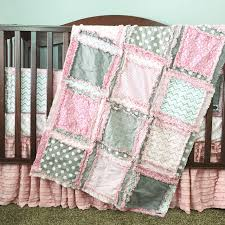 Precious in Every Way Baby Girl Crib Bedding | A Vision to ... & Custom Baby Girl Nursery Crib Bedding by A Vision to Remember Adamdwight.com