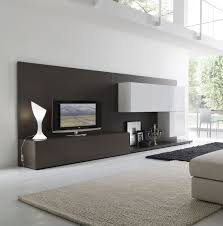living room with stone fireplace with tv. Modern Living Room With Fireplace And Tv Unique White Floor Lamp Leather Rug Natural Stone R