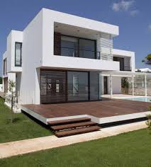 Small Picture Contemporary Minimalist Home Design Ideas With Stained White Wall