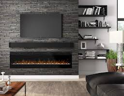 for a tv friendly fireplace go electric