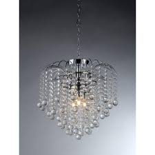 warehouse of tiffany candace 4 light crystal chrome chandelier