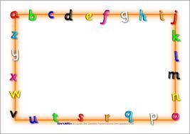 Preschool Page Borders Letter Border Konmar Mcpgroup Co