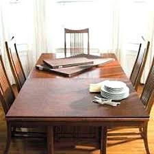 Protective Table Pads Dining Room Tables Interesting Table Pads For Dining Room Tables Dining Room And Living Room Combo