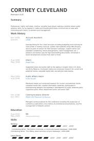 Sample Cv For Accounts Assistant Kordurmoorddinerco Impressive Accounting Assistant Resume
