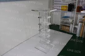 Acrylic Pedestal Display Stands Clear Acrylic PedestalQuality Lucite sculpture standSquare 82