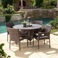 wicker dining set patio furniture