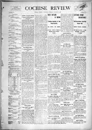 Cochise review, 1900-08-30 - Cochise Review - Arizona Memory Project