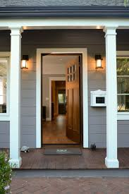 white craftsman front door. Out Of This World Craftsman Front Door Exterior With White Painted Trim Universal Doors I