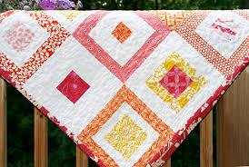 Lemon Squares Quilt Pattern ~ Fresh Lemons Modern Quilts & Lemon Squares Quilt Pattern Adamdwight.com