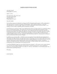 Graduate Nurse Cover Letter Project Scope Template