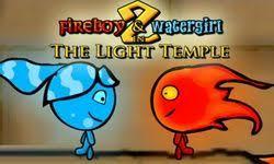 Jugar a Fuegoman y Aquagirl en el templo de la luz...