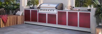 great range of outdoor kitchen appliances