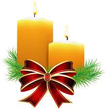 Christmas Candles Transparent PNG Clip Art Image | Weihnachten ...
