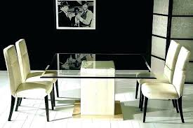 glass top dining room table decoration pedestal base only bases for tops attractive round