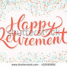 retirement banner clipart happy retirement clipart banner stock vector 432595891 shutterstock