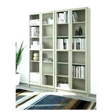 bookshelf sliding glass doors bookcase with door shelf stained wooden ameriwood home aaron lane doo