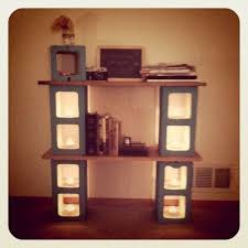 Outstanding Cinder Block Shelf 12 With Additional Interior Decor Home with Cinder  Block Shelf