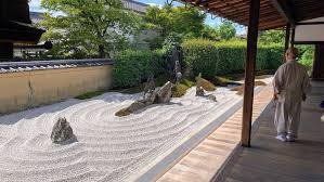beautiful japanese zen rock gardens