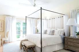 Farmhouse Canopy Bed New Farmhouse Canopy Bed Bedroom Beach Style ...